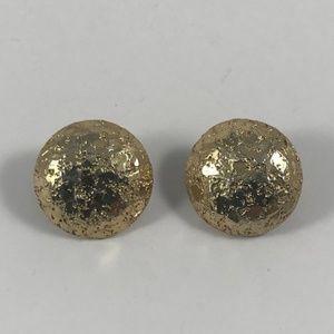 Vintage Sarah Cov Gold Earrings, Sarah Coventry